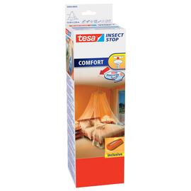 Moskitonetz mit Deckenhaken 12,5m x 2,5m weiß Tesa 55836-00020 Produktbild