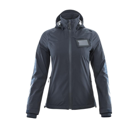 Hard Shell Jacke, Damen,geringes Gewicht / Gr. L, Schwarzblau Produktbild