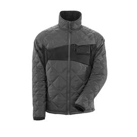 Jacke mit CLI, wasserabweisend  Thermojacke / Gr. L,  Dunkelanthrazit/Schwarz Produktbild