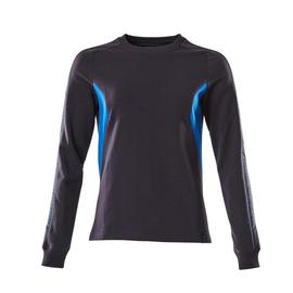 Sweatshirt, Damen / Gr. 5XLONE,  Schwarzblau/Azurblau Produktbild
