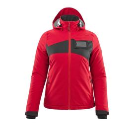Winterjacke m. CLI, Damen, leicht / Gr.  XL, Verkehrsrot/Schwarz Produktbild