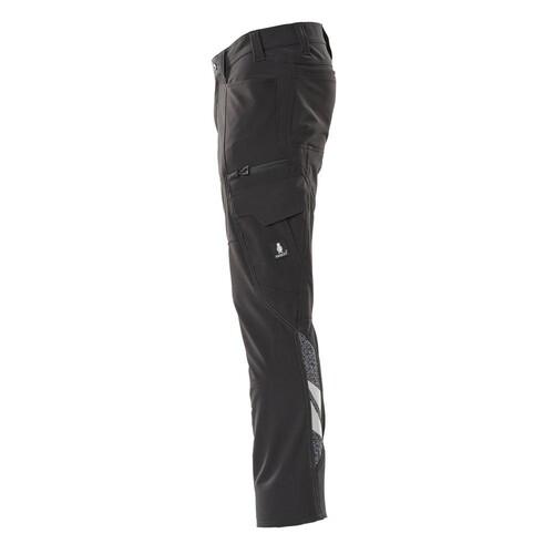 Hose, Schenkeltaschen, Stretch / Gr.  82C42, Schwarz Produktbild Additional View 1 L