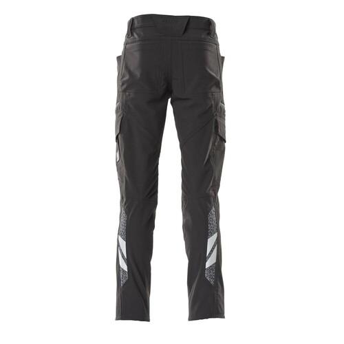 Hose, Schenkeltaschen, Stretch / Gr.  82C42, Schwarz Produktbild Additional View 2 L