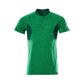Polo-Shirt, COOLMAX®PRO,moderne  Passform / Gr. 2XLONE, Grasgrün   meliert/Grün Produktbild