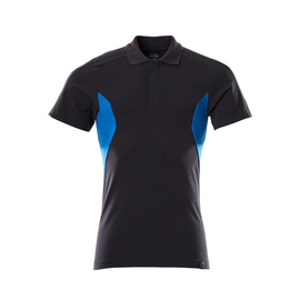 Polo-Shirt, moderne Passform / Gr. S   ONE, Schwarzblau/Azurblau Produktbild