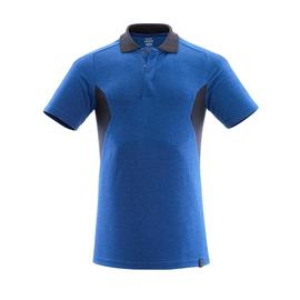 Polo-Shirt, moderne Passform / Gr. S   ONE, Azurblau/Schwarzblau Produktbild