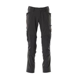 Hose, Knietaschen, Stretch / Gr. 82C49,  Schwarz Produktbild