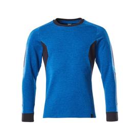 Sweatshirt, moderne Passform / Gr. M   ONE, Azurblau/Schwarzblau Produktbild