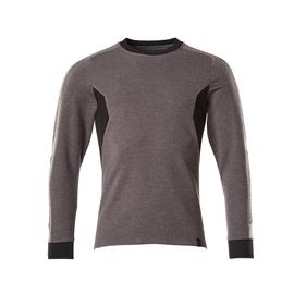 Sweatshirt, moderne Passform / Gr.  4XLONE, Dunkelanthrazit/Schwarz Produktbild