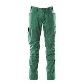 Hose mit Knietaschen, Stretch-Einsätze  / Gr. 90C60, Grün Produktbild