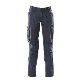 Hose mit Knietaschen, Stretch-Einsätze  / Gr. 82C60, Schwarzblau Produktbild