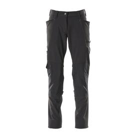 Hose, Damen, Pearl, Knietaschen,  Stretch / Gr. 76C34, Schwarz Produktbild