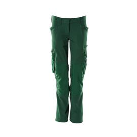 Hose, Damen, Pearl, Knietaschen,  Stretch / Gr. 82C34, Grün Produktbild