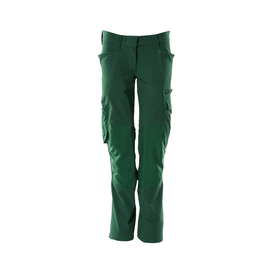Hose, Damen, Pearl, Knietaschen,  Stretch / Gr. 76C50, Grün Produktbild