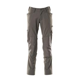 Hose, Knietaschen, Stretch / Gr. 82C50,  Dunkelanthrazit Produktbild