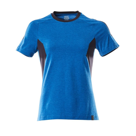 T-Shirt, Damen Damen T-shirt / Gr. L   ONE, Azurblau/Schwarzblau Produktbild