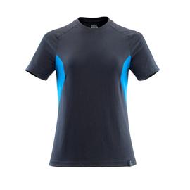 T-Shirt, Damen Damen T-shirt / Gr.  5XLONE, Schwarzblau/Azurblau Produktbild