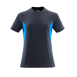 T-Shirt, Damen Damen T-shirt / Gr.  3XLONE, Schwarzblau/Azurblau Produktbild