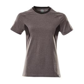 T-Shirt, Damen Damen T-shirt / Gr.  4XLONE, Dunkelanthrazit/Schwarz Produktbild