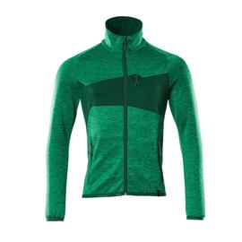 Fleecepullover mit Reißverschluss  Microfleecejacke / Gr. 3XL,  Grasgrün/Grün Produktbild