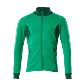 Sweatshirt mit Reißverschluss,modern  Fit / Gr. 2XLONE, Grasgrün/Grün Produktbild