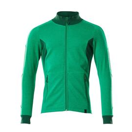 Sweatshirt mit Reißverschluss,modern  Fit / Gr. 4XLONE, Grasgrün/Grün Produktbild