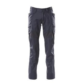Hose, Schenkeltaschen, Stretch-Einsätze  / Gr. 82C52, Schwarzblau Produktbild