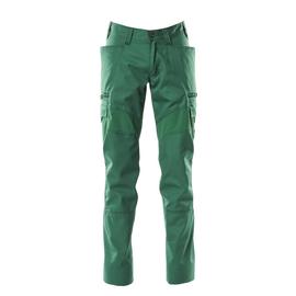 Hose, Schenkeltaschen, Stretch-Einsätze  / Gr. 82C44, Grün Produktbild