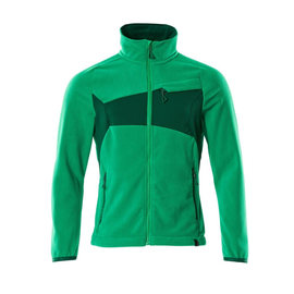 Fleecejacke mit Antipilling / Gr. 4XL,  Grasgrün/Grün Produktbild