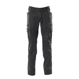 Hose, Schenkeltaschen, Stretch-Einsätze  / Gr. 82C44, Schwarz Produktbild