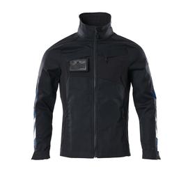 Jacke, Stretch-Einsätze Arbeitsjacke /  Gr. 4XL, Schwarzblau Produktbild