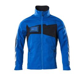 Jacke, Stretch-Einsätze Arbeitsjacke /  Gr. XL, Azurblau/Schwarzblau Produktbild