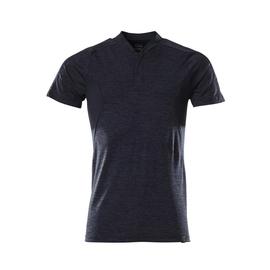 Polo-Shirt, COOLMAX®PRO,moderne  Passform / Gr. L  ONE, Schwarzblau  meliert Produktbild