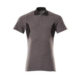 Polo-Shirt, moderne Passform / Gr. L   ONE, Dunkelanthrazit/Schwarz Produktbild