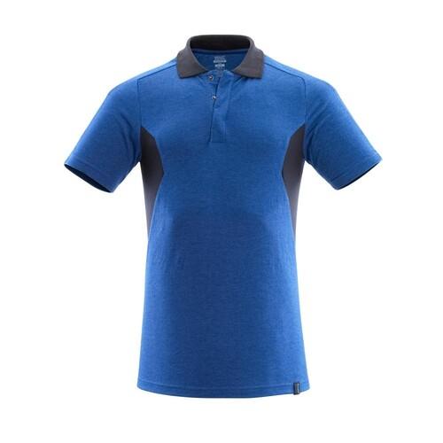 Polo-Shirt, moderne Passform / Gr. L ONE, Azurblau/Schwarzblau Produktbild