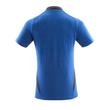 Polo-Shirt, moderne Passform / Gr. L ONE, Azurblau/Schwarzblau Produktbild Additional View 2 S