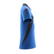 Polo-Shirt, moderne Passform / Gr. L ONE, Azurblau/Schwarzblau Produktbild Additional View 3 S