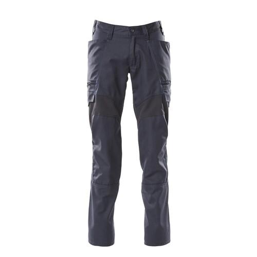 Hose, Schenkeltaschen, Stretch-Einsätze  / Gr. 82C44, Schwarzblau Produktbild