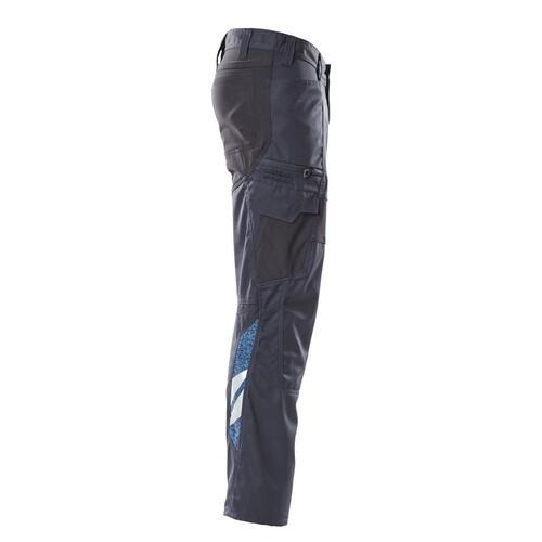 Hose, Schenkeltaschen, Stretch-Einsätze  / Gr. 82C44, Schwarzblau Produktbild Additional View 3 L