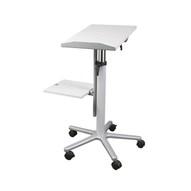 Beamertisch Professionell höhenverstell- bar melaminharzbeschichtet grau Maul 9333082 Produktbild