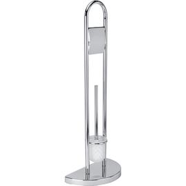 WENKO WC-Garnitur Raumwunder 16608100 chrom Produktbild