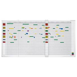 magnetoplan Personalplaner 3703355 5Tage/Woche für 60Mitarbeiter Produktbild