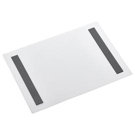 magnetoplan Sichttasche Magnetofix DIN A4 quer 2mm Gummi weiß Produktbild