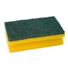 Schwamm 15x9cm Griffleiste gelb/grün Produktbild