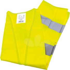 Warnweste EN ISO 20471 Polyester gelb Produktbild