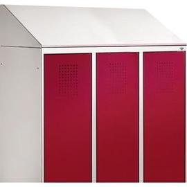 C+P Schrägdachaufsatz 4933709010 230mm für Umkleidespind B900mm rws Produktbild
