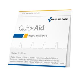FIRST AID ONLY Nachfüllpack QuickAid P-44005 00 45 St./Pack. (PACK=45 STÜCK) Produktbild