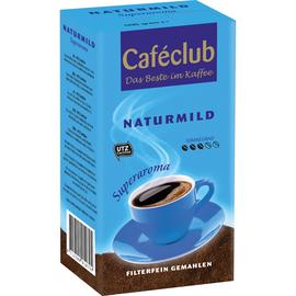 Kaffee Cafeclub Naturmild 799 gemahlen 500g (PACK=500 GRAMM) Produktbild