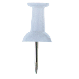 ALCO Pinnwandnadel 660-10 weiß 20 St./Pack. (PACK=20 STÜCK) Produktbild