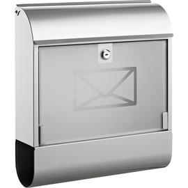 ALCO Briefkasten 8608 36x40x11cm Metall silber Produktbild